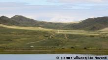 Russland Autonome Republik Tuwa Landschaft