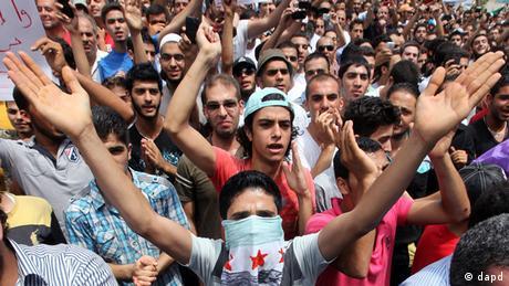 Syrien Protest (dapd)