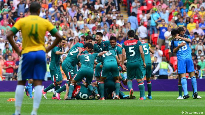 8c26a79a14 O Brasil disputou quatro decisões contra o México e perdeu todas