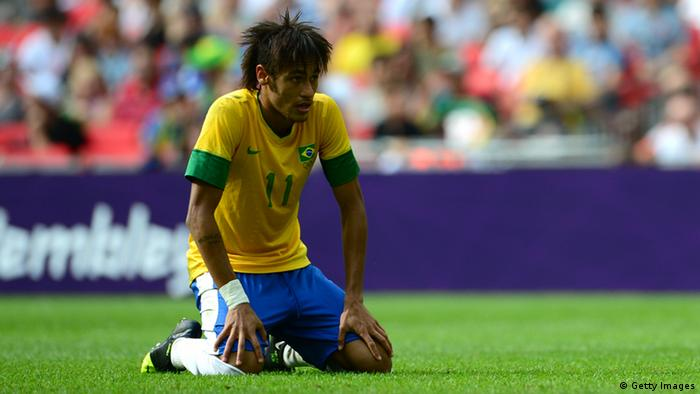 0f1649afe0 Neymar não tem bom retrospecto contra o México. Em seis duelos
