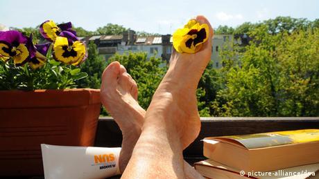 Sommer Deutschland 2012