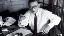 100. Geburtstag von Jean-Paul Sartre