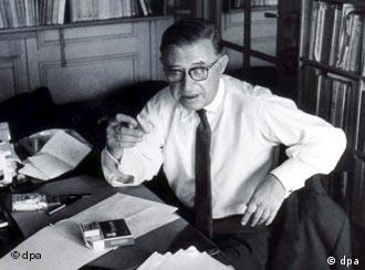 Sartre em Paris nos anos 60