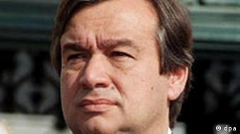 Antonio Guterres aus Portugal nominiert für den Posten als UN-Flüchtlingskommissar