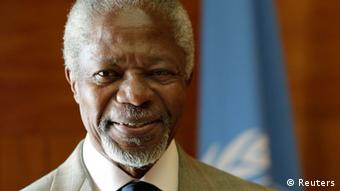Kofi Annan, en visite à Abidjan a défendu l'action de la CPI