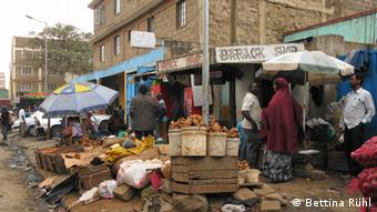 Markt in Eastleigh, Stadtviertel von Nairobi/ Kenia (Foto: Bettina Rühl)