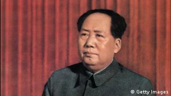 A retouched picture released by Chinese official news agency of Mao Zedong, Chairman of the Chinese Communist Party from 1935 until his death in 1976, delivering a speech 'about correctly handling contradiction among the people' at the standing committee of the State Council in Beijing in 1957 (Photo: AFP/Getty Images)