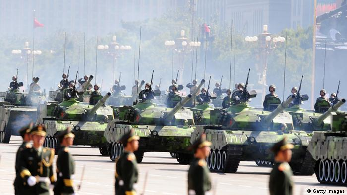 China Militärparade Militär Armee (Getty Images)
