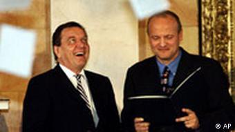 Ehrendoktor der Naturwissenschaften Gerhard Schröder