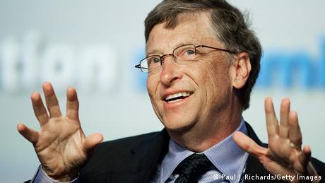 Bildergalerie Linkshänder Bill Gates (Paul J. Richards/Getty Images)