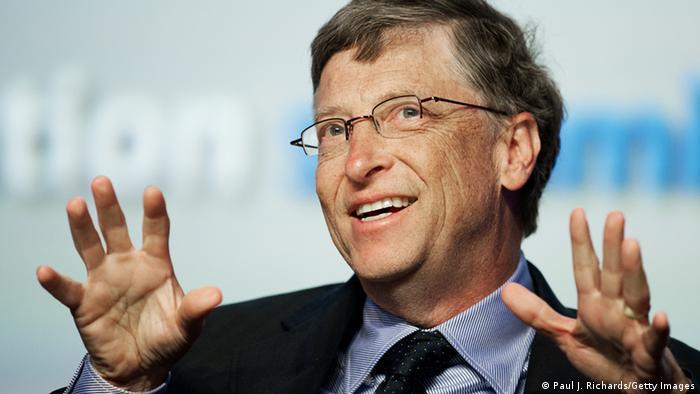 Bildergalerie Linkshänder Bill Gates