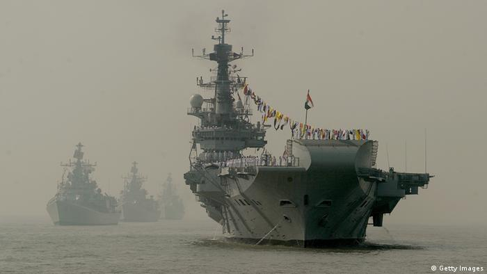 Indien Flugzeugträger Marine