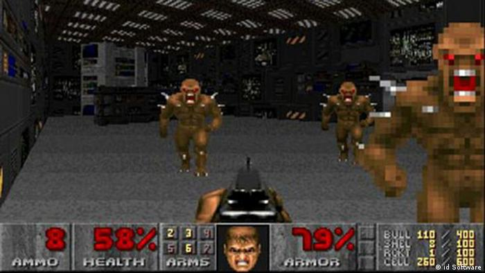 Galerie Artwork in Computerspielen Doom