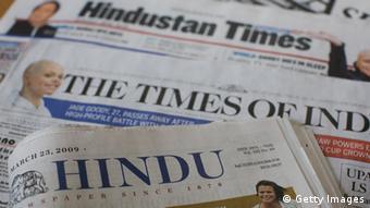 Indien Zeitungen