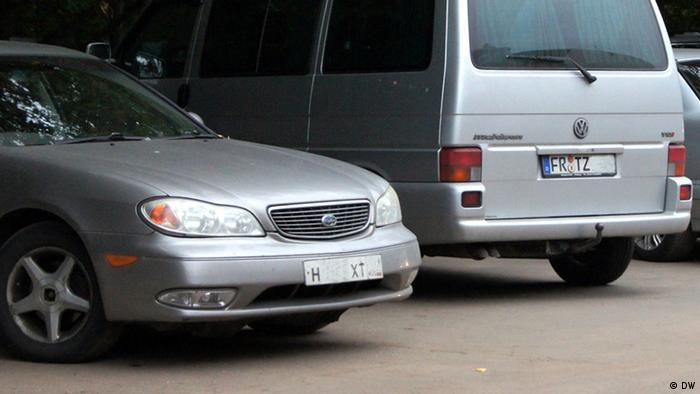 Автомобиль с немецкими
