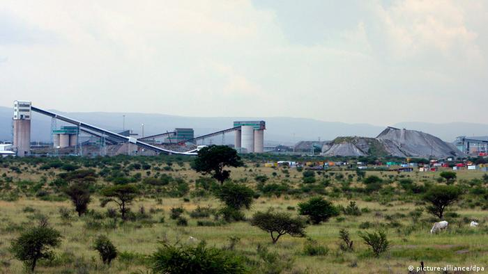 A file photo dated 17 January 2008 showing a general view of the platinum mine operated by Lonmin near Rustenburg, 100km north-west of Johannesburg, South Africa.