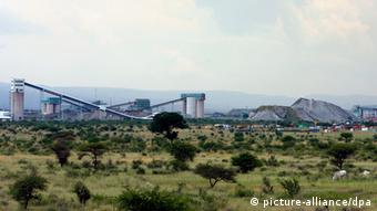 A general view of the Marikana platinum mine (photo: dpa)