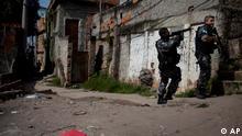 Brasilien Alemao Favela Polizei
