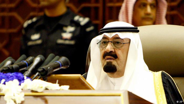 Saudi-Arabiens König Abdullah, 25.9.2011 (Foto: AP)