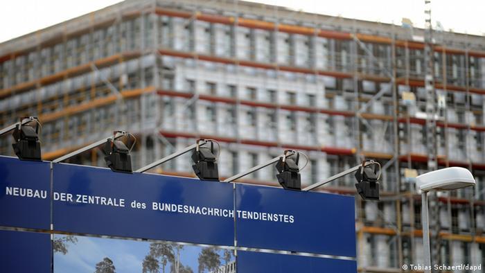 Deutschland Baustelle BND