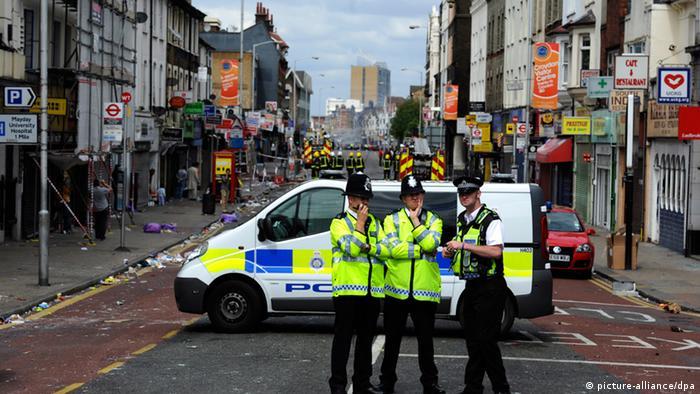 Unruhen in Großbritannien