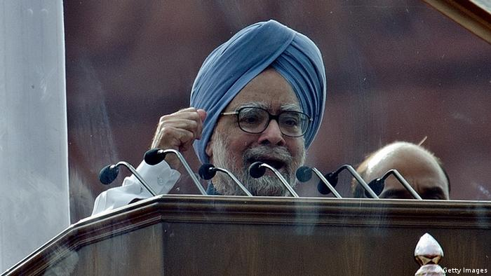 Indiens Ministerpräsident Manmohan Singh (Foto: AFP/ GettyImages)