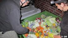 Münster Mülltauchen