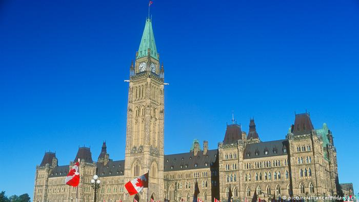 Das Parlament in Ottawa Kanada