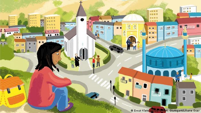 Auszug aus dem Islam-Lehrbuch Miteinander auf dem Weg (Foto: Ernst Klett Verlag GmbH/Liliane Oser)