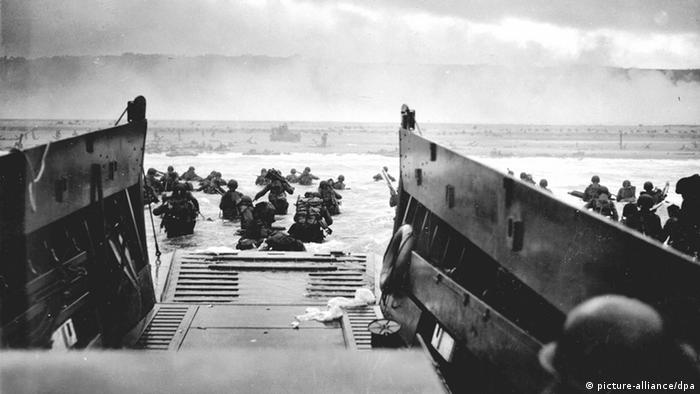D-Day: Is joint commemoration possible? | World| Breaking news and  perspectives from around the globe | DW | 05.06.2019