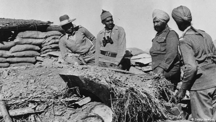 Indisch-Chinesischer Grenzkrieg 1962 (Getty Images)