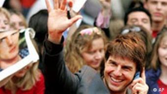 Tom Cruise in Berlin Filmpremiere Krieg der Welten