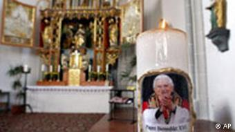 Papst Benedikt XVI in Bayern