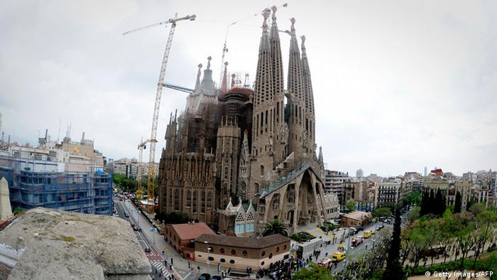 Spanien Finanzkrise Barcelona Sagrada Familia (Getty Images/AFP)