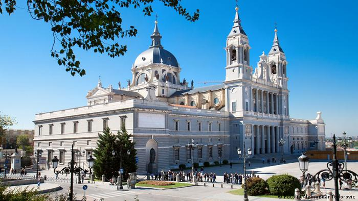 Beautiful architecture- Cathedral Almudena, Spain © Aleksandar Todorovic #27213713