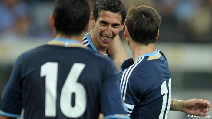 Fußball Testspiel Deutschland - Argentinien