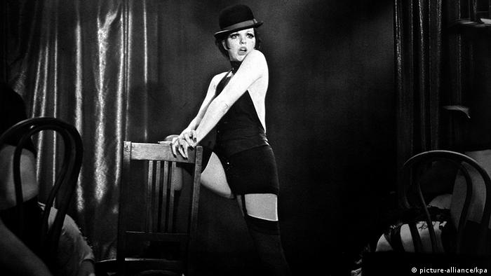 Liza Minelli in the musical Cabaret in 1972