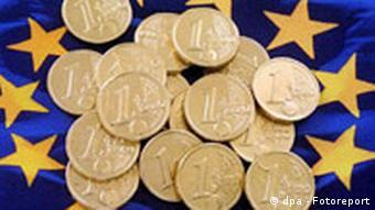 Symbolbild EU und das Geld