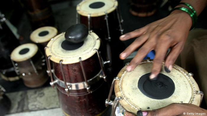 Traditional Indian percussion instrument, Tabla (Photo: PAL PILLAI/AFP/Getty Images)