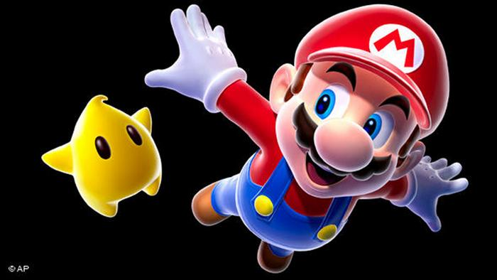 In this image provided by Nintendo, video game icon Mario is shown. Even though Mario hasn't changed much in nearly three decades, the latest game he stars in, the newly released The New Super Mario Bros. Wii, is one of the holiday season's top titles. (AP Photo/Nintendo)
