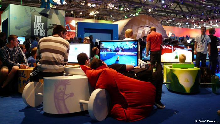 An image taken at the last Gamescom, the world's largest trade fair for video games.