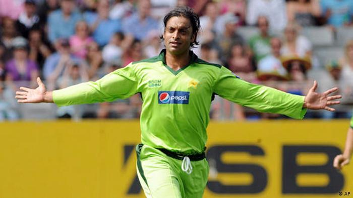 Cricket Spieler Shoaib Akhtar (AP)