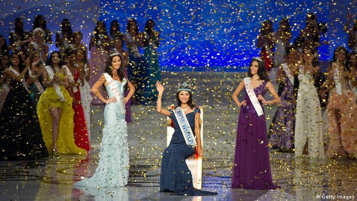 Yu Wenxia Miss World (Getty Images)