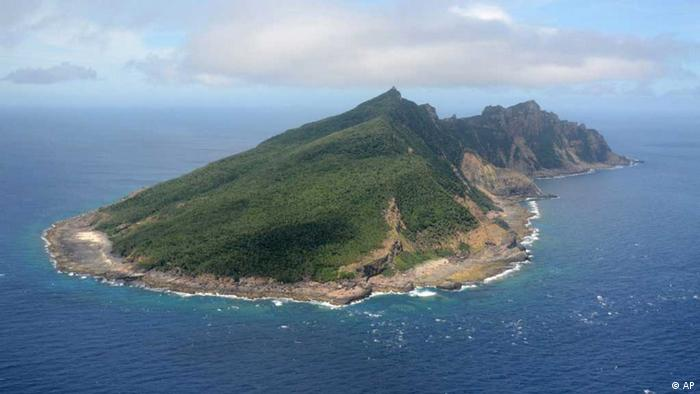 Uotsuri Island, one of the islands of Senkaku in Japanese and Diaoyu in Chinese (Foto:Kyodo News/AP/dapd)