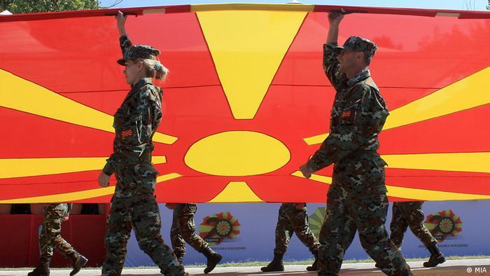Mazedonien 20 Jahre mazedonische Armee