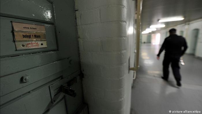 Symbolbild Deutschland Gewalt Gefängnis