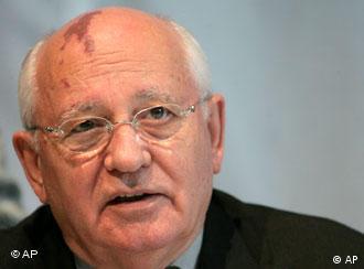 Inzwischen ein 'Promi': Michail Gorbatschow