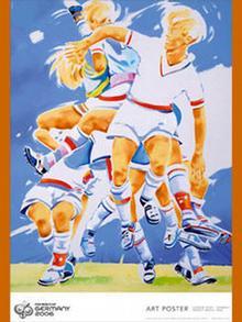 Bildgalerie Official Art Poster 2006 FIFA World 4