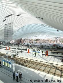 Bahnhof in Lüttich Liège Belgien (Foto: dpa)
