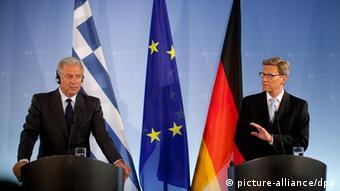 Deutschland Griechenland Finanzkrise Westerwelle trifft griechischen Außenminister